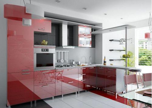Кухня акриловая Аркадия