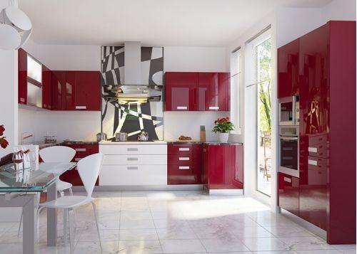 Кухня акриловая Эдельвейс