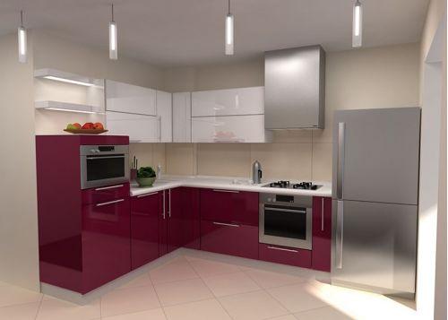 Кухня акриловая Гардарика