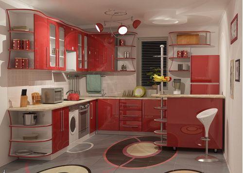 Кухня акриловая Интро