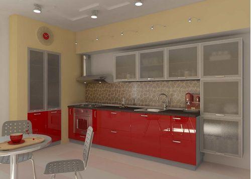 Кухня акриловая Симона
