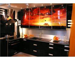 Кухня с фотопечатью Дюна