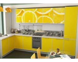 Кухня с фотопечатью Джус