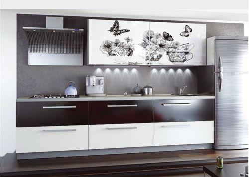 Кухня с фотопечатью Флай