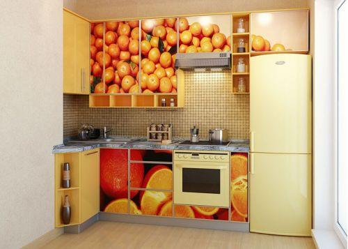 Кухня с фотопечатью Маньяна