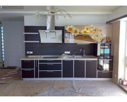 Кухня с фотопечатью Оранте