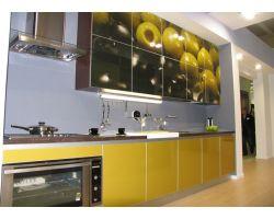 Кухня с фотопечатью Пинта