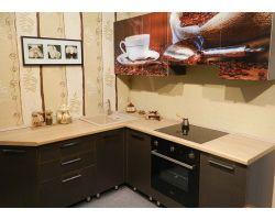 Кухня с фотопечатью Робуста