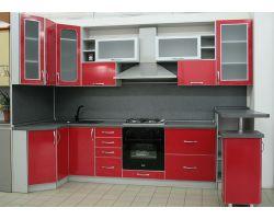 Кухня из пластика Онорино