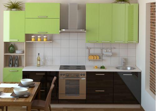 Кухня из пластика Янина
